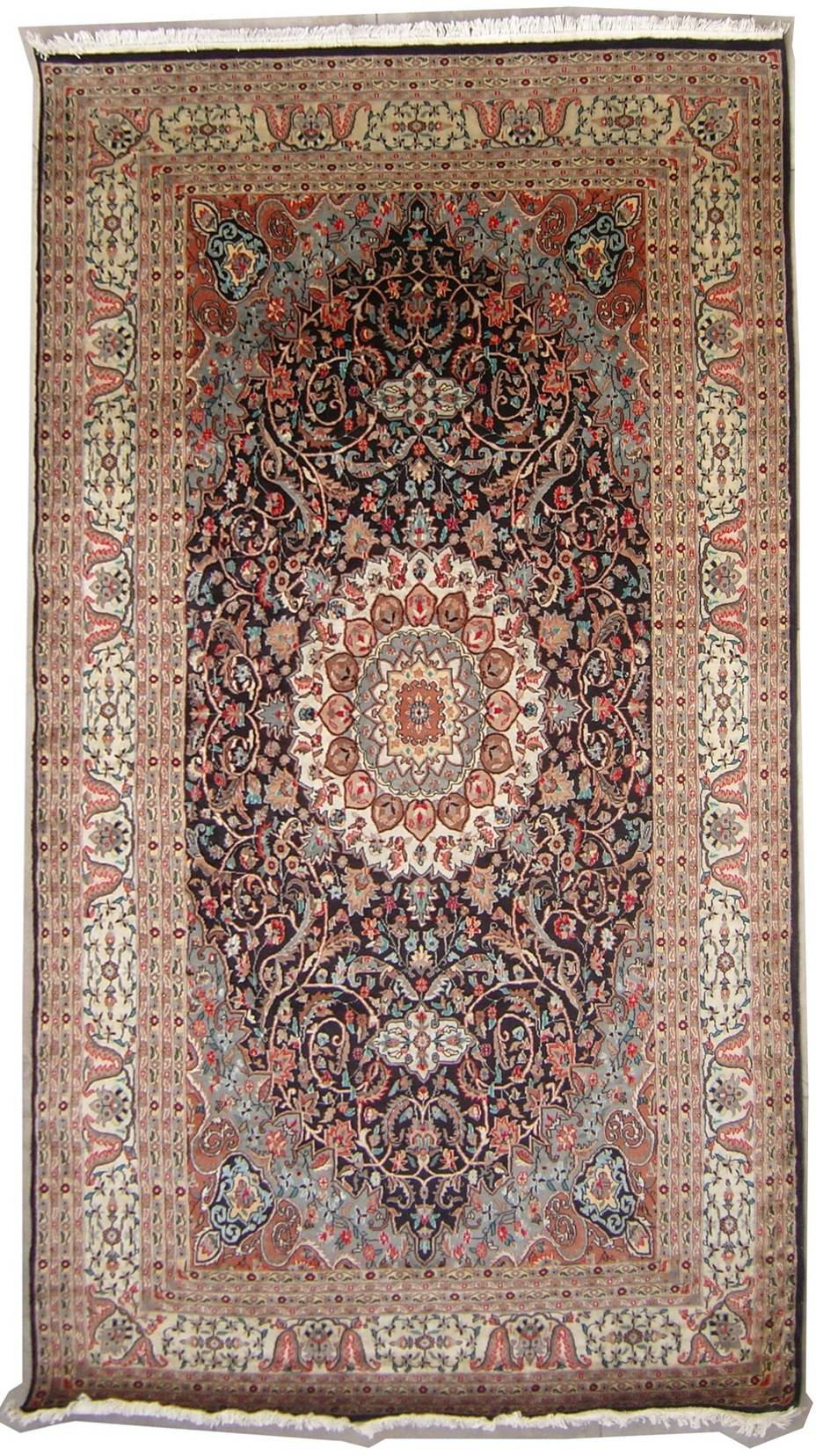 7 39 10x12 39 0 Rug Double Knot Pak Persian Ispahan Design
