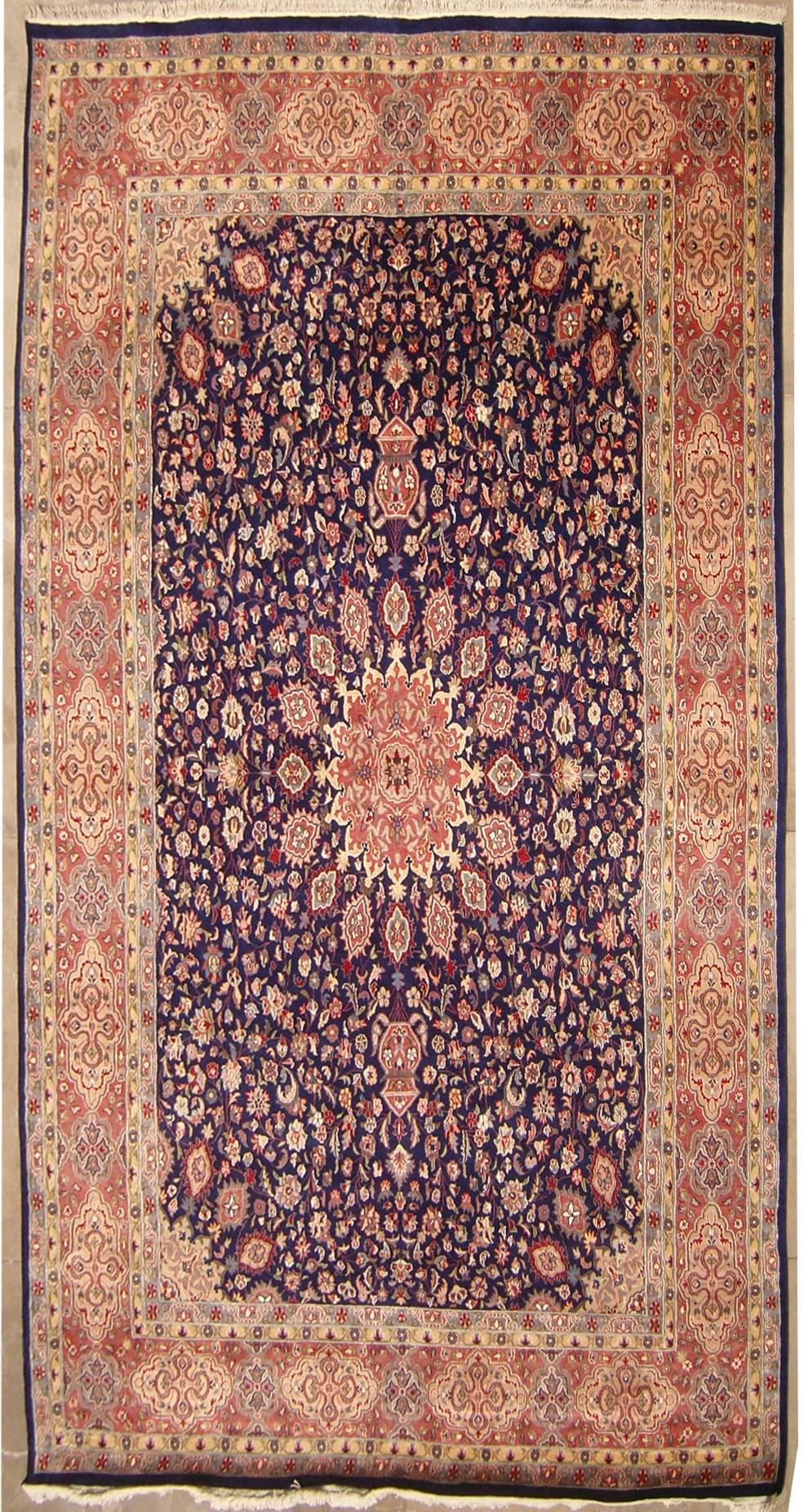9 39 11x13 39 10 Rug Double Knot Pak Persian Ardabil Design