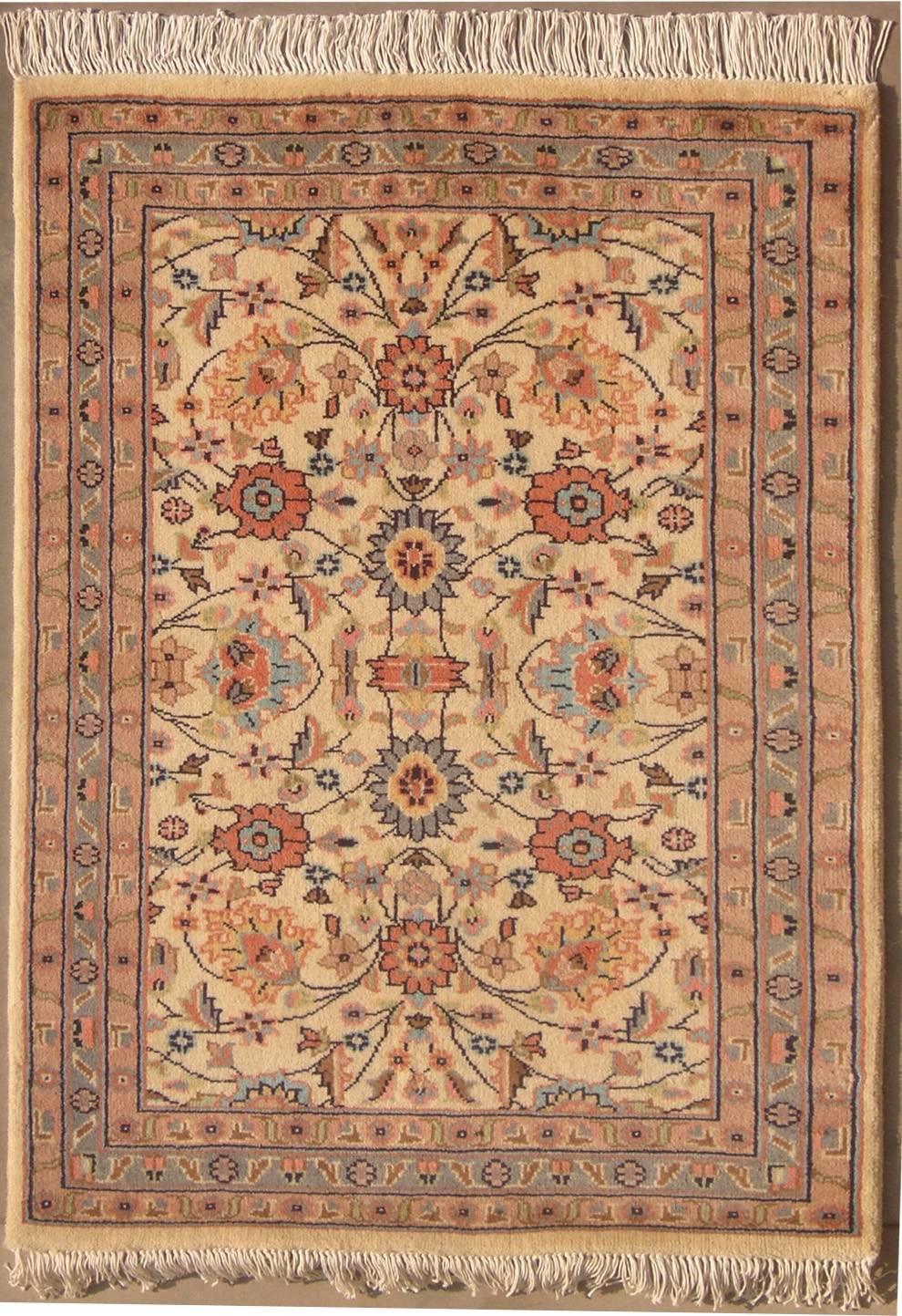 2 39 6x3 39 10 Rug Double Knot Pak Persian Mahal Design