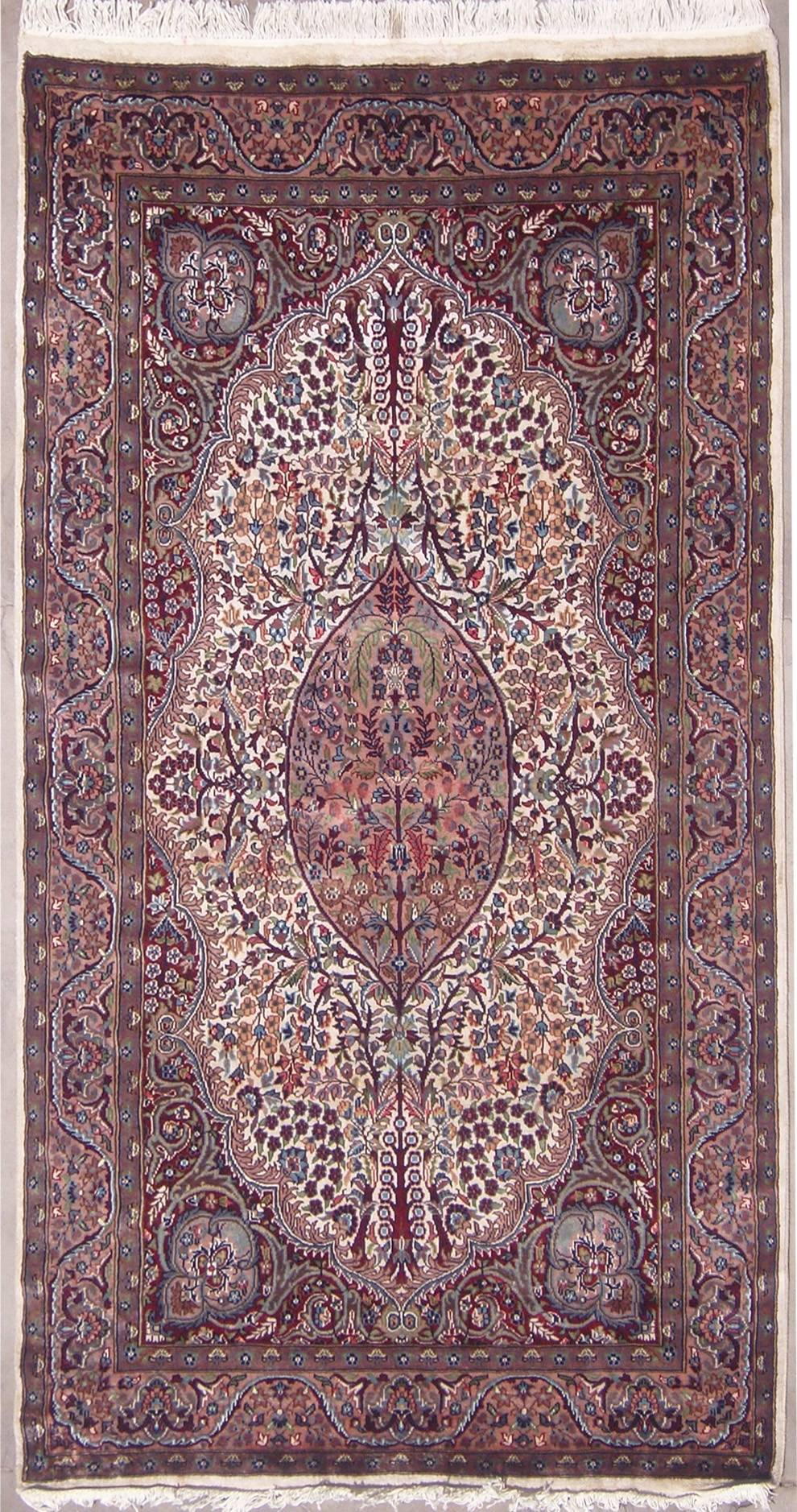 4 6x6 8 Rug Pak Persian Tree Of Life Handmade Silk And Wool Rugs A