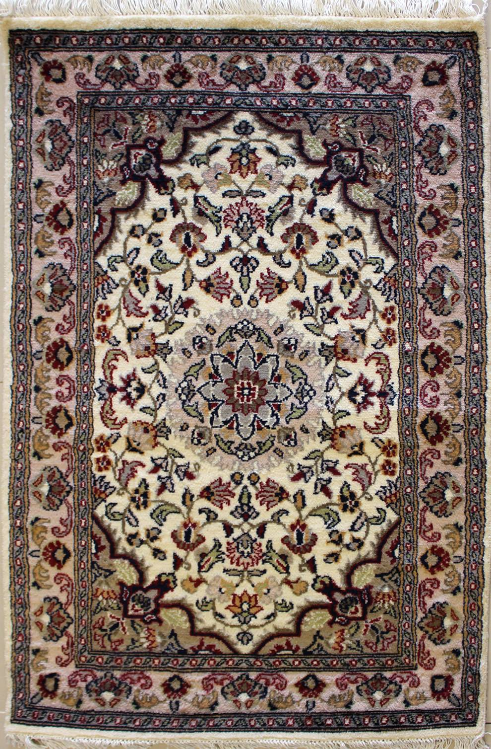 2'6x4'2 Rug - Floral - Handmade Pak Persian High Quality Rugs - a 2x4 Rug  size - RugsTC