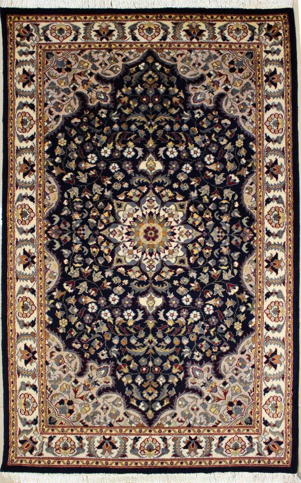 "3'1""x5'3"" Pak Persian Design Blue Color"