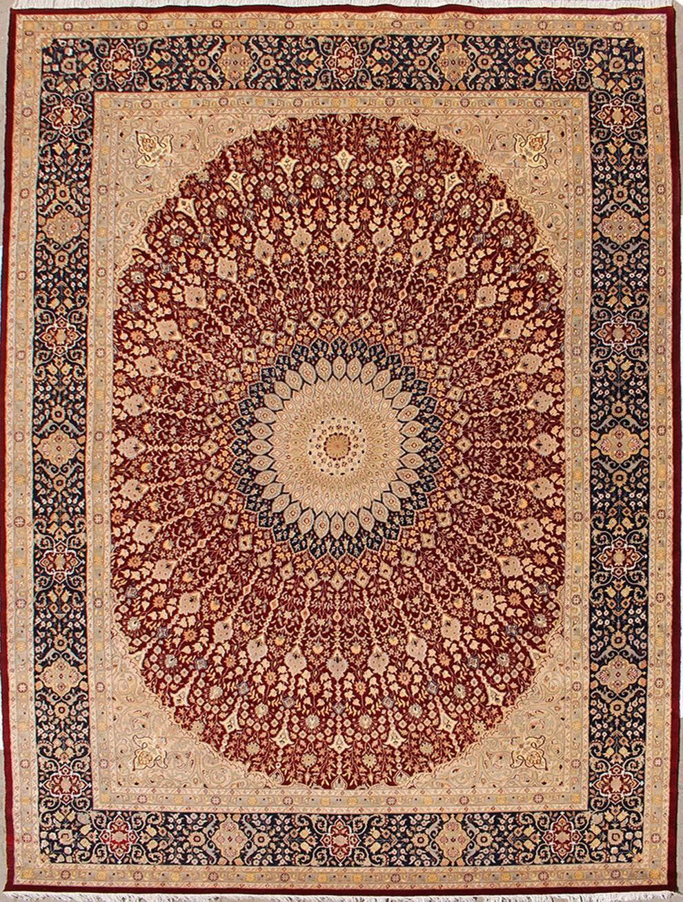 11 39 9x18 39 1 Rug Floral Handmade Pak Persian High Quality