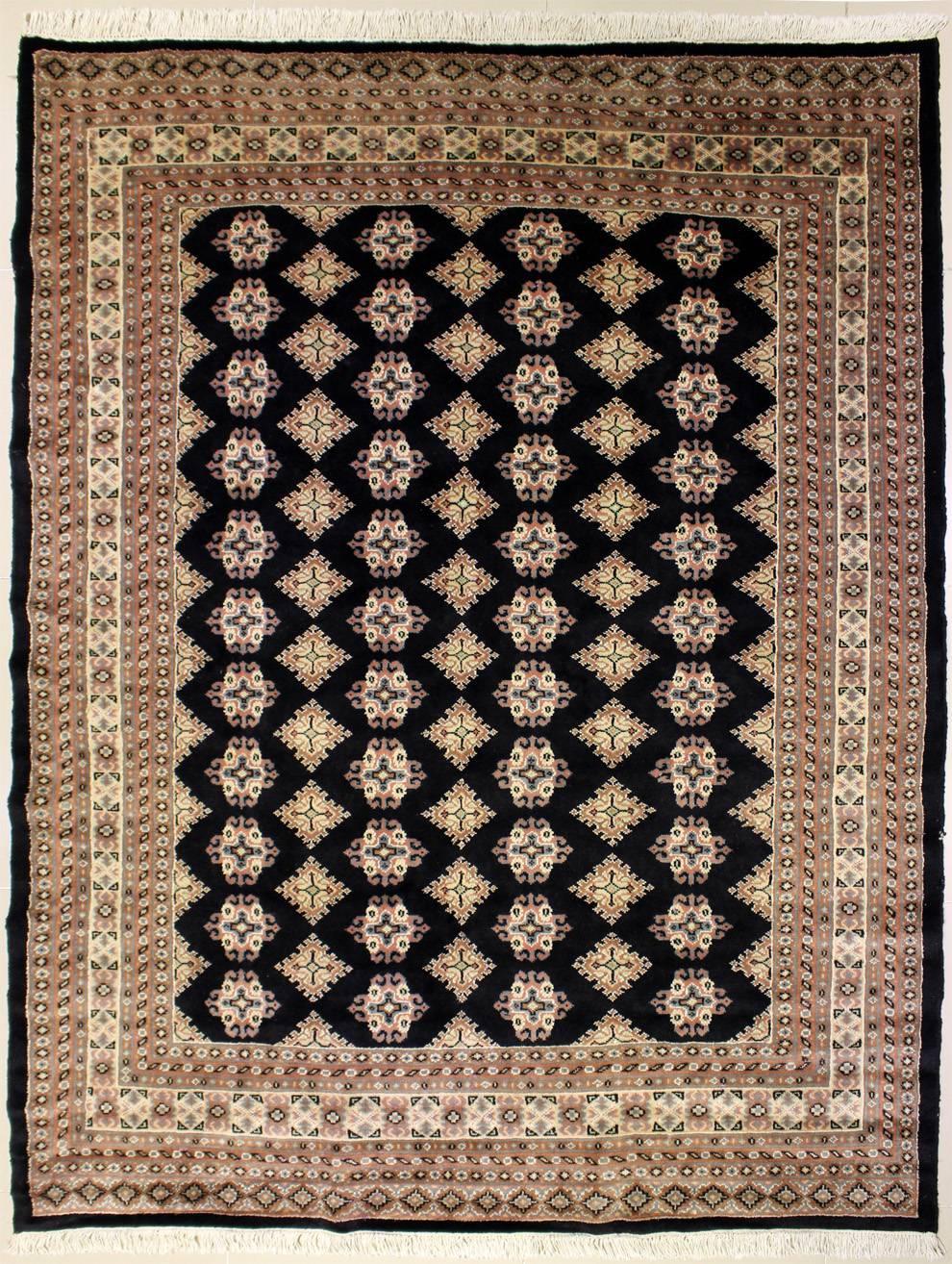 6 1x7 5 Rug Geometric Handmade Bokhara Jaldar Rugs A