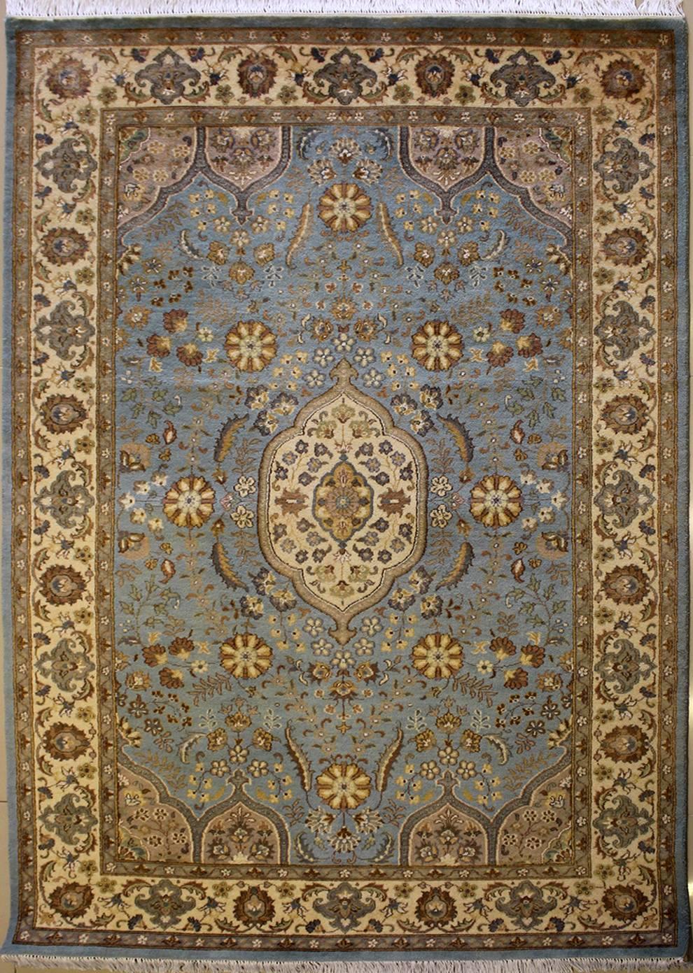 5 39 0x8 39 5 Rug Floral Handmade Pak Persian High Quality