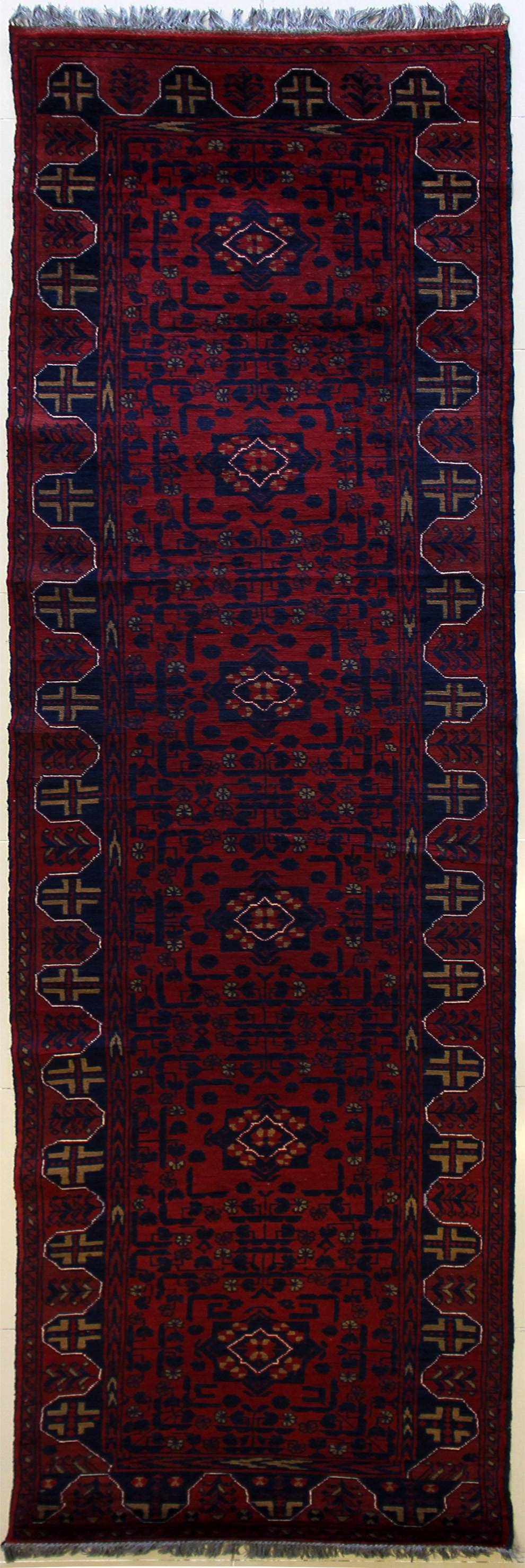 "2'6""x12'3"" Tribal Khan Mohammadi"
