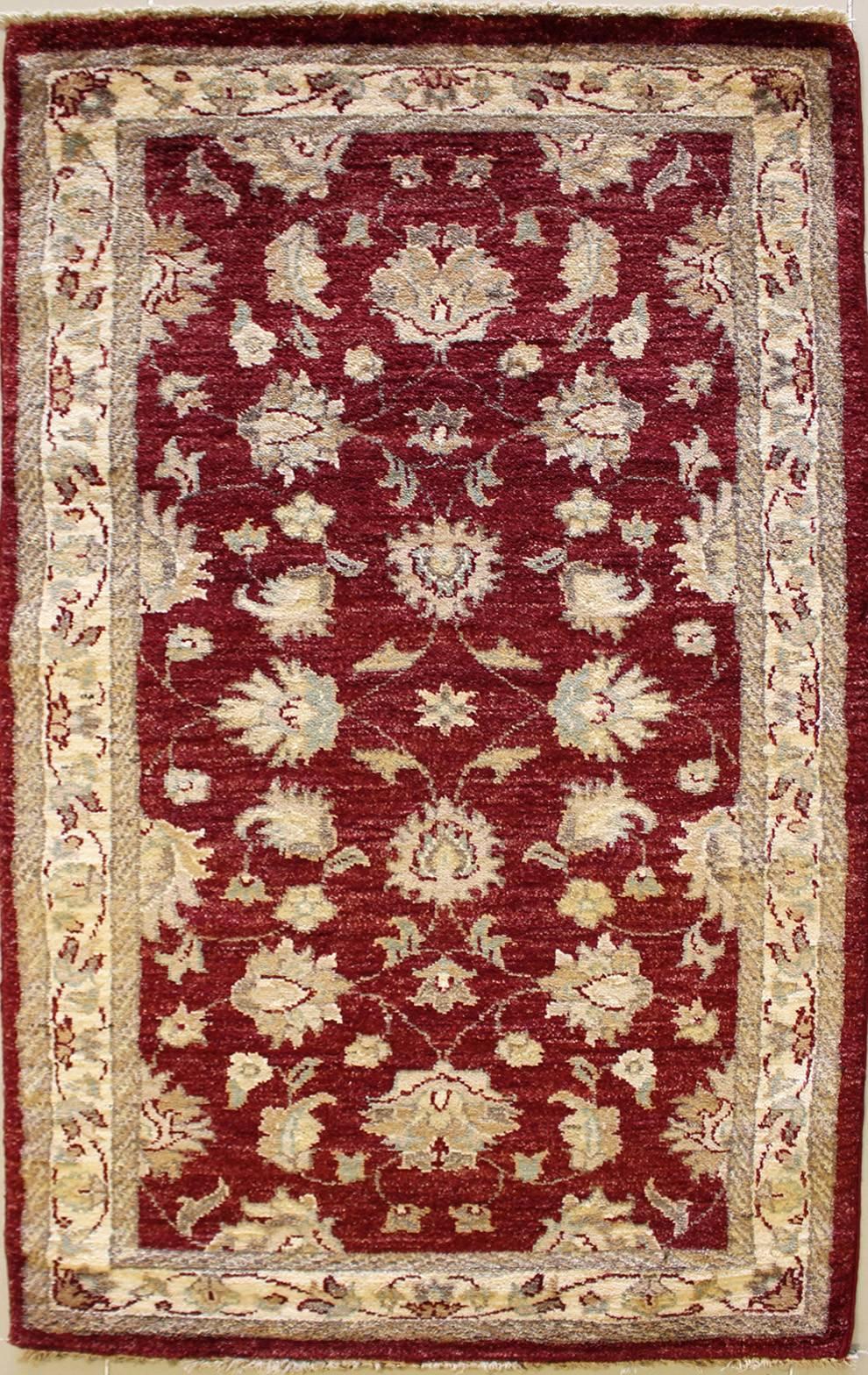 5x4'9 rug - ziegler chobi - handwoven chobi ziegler rugs made with
