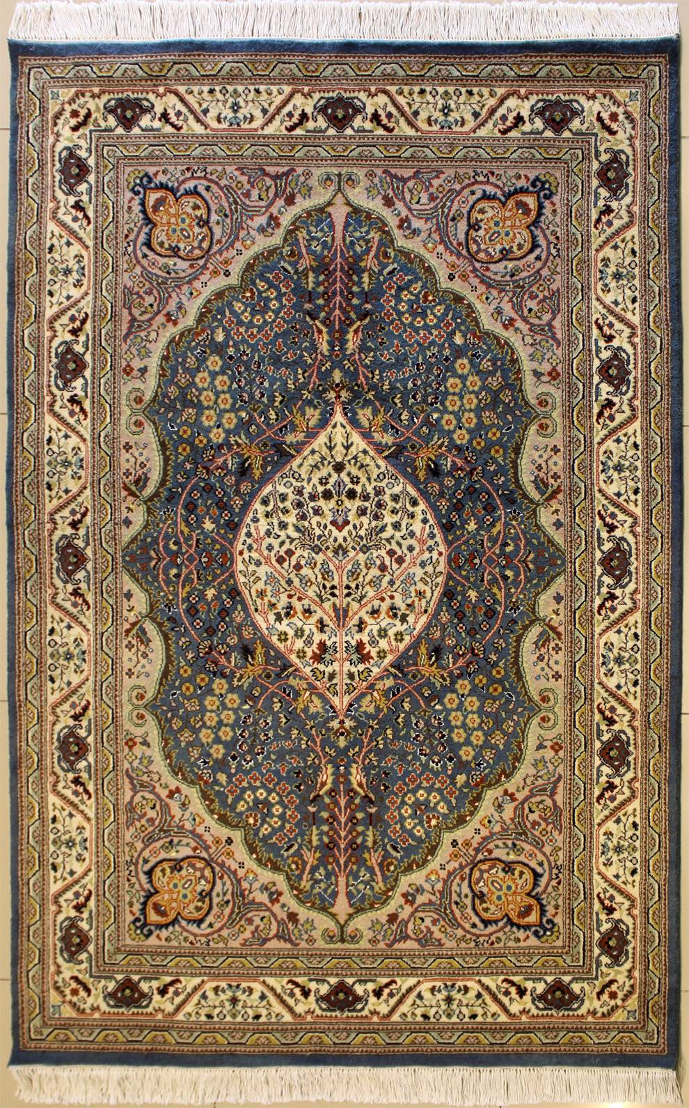 4 7x7 3 Rug Floral Handmade Pak Persian High Quality Rugs A 5x7 Rug Size Rugstc