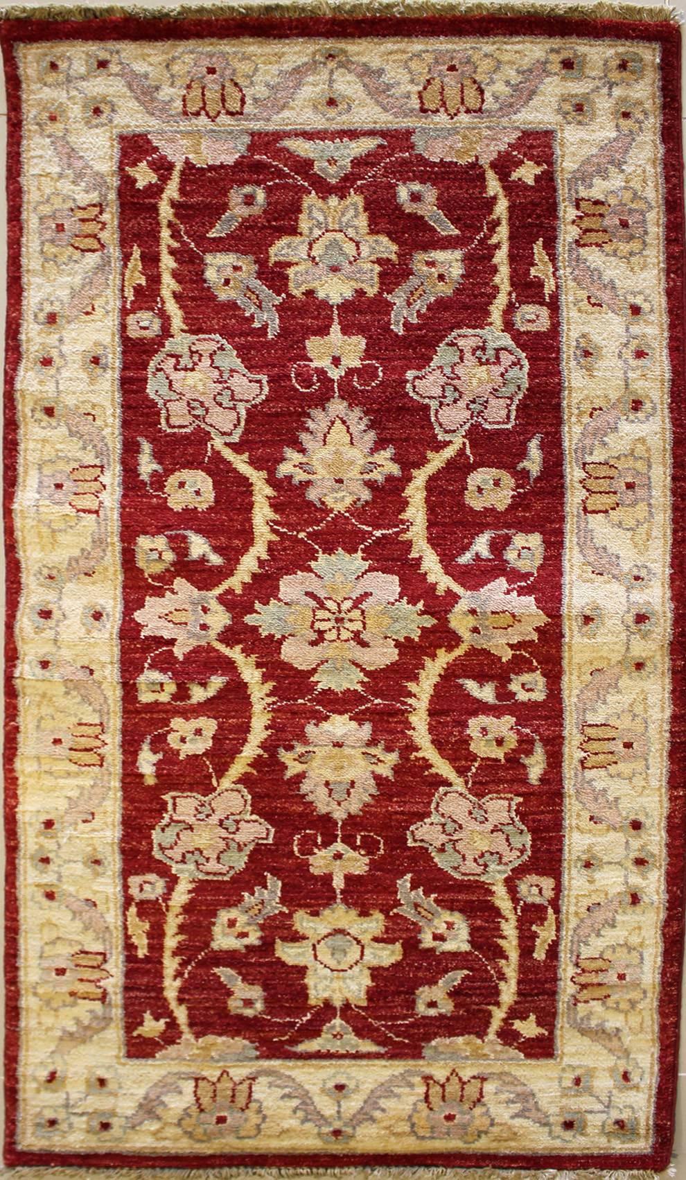 3x4'8 rug - ziegler chobi - handwoven chobi ziegler rugs made with